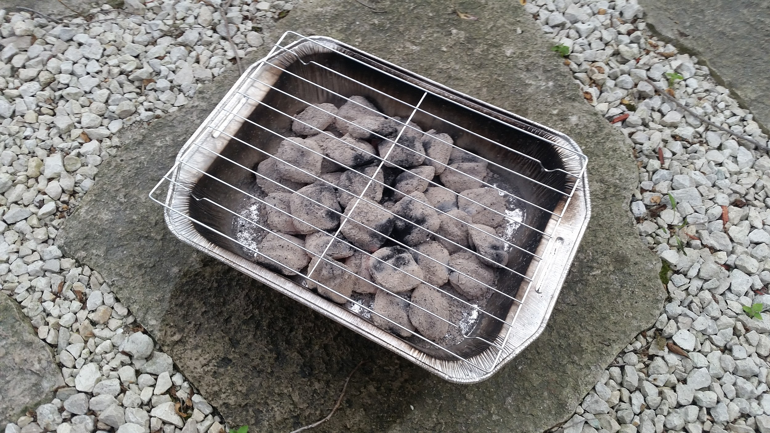 how to make lump charcoal at home