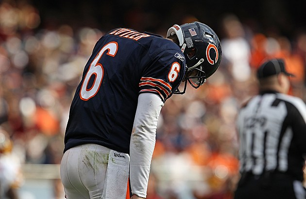 Report: Chicago Bears Release QB Jay Cutler