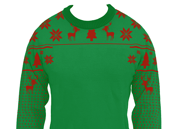 Design your own ugly christmas sweater online aztec for Make your own shirt and sell it