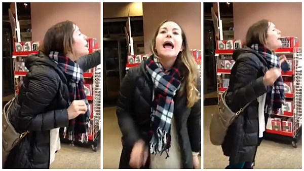 Woman 39 S 39 Racist 39 Rant At Chicago Michaels Goes Viral