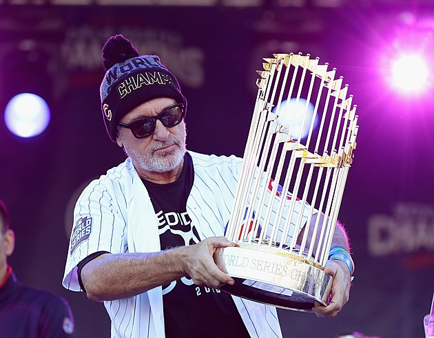 The Cubs Are Taking The World Series Trophy On Tour And It's Coming To Rockford