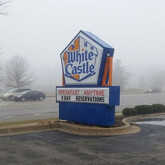 Nearby White Castle Accepting Valentine's Day Reservations