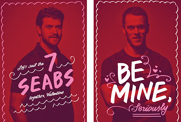 The Chicago Blackhawks Made Their Own Valentine's Day Cards