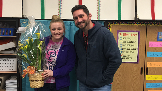 Teacher of the Week: Ms. Teeters from Olson Park Elementary