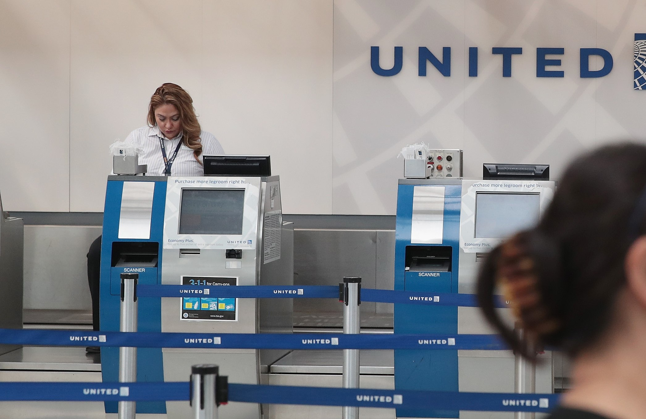Protests At O'Hare Airport's United Terminal Over Company's Forceful Removal Of Passenger