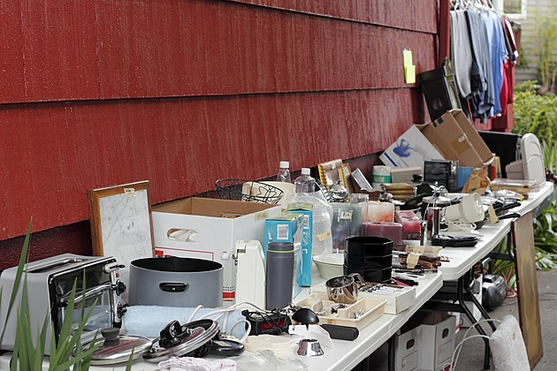 OMG Becky, Looking At This Funny Rockford Garage Sale Sign Makes Us Want To Buy All The Junk