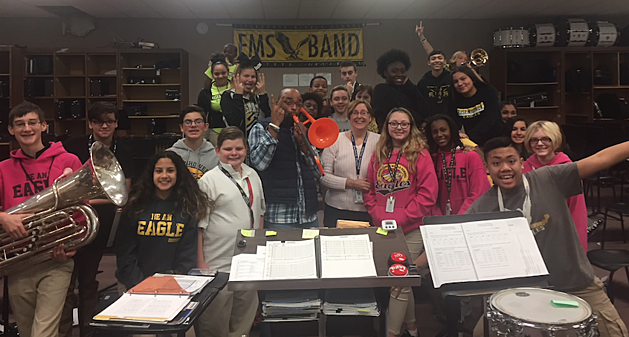 Teacher Of The Week: Mrs. Heddinger From Eisenhower Middle School